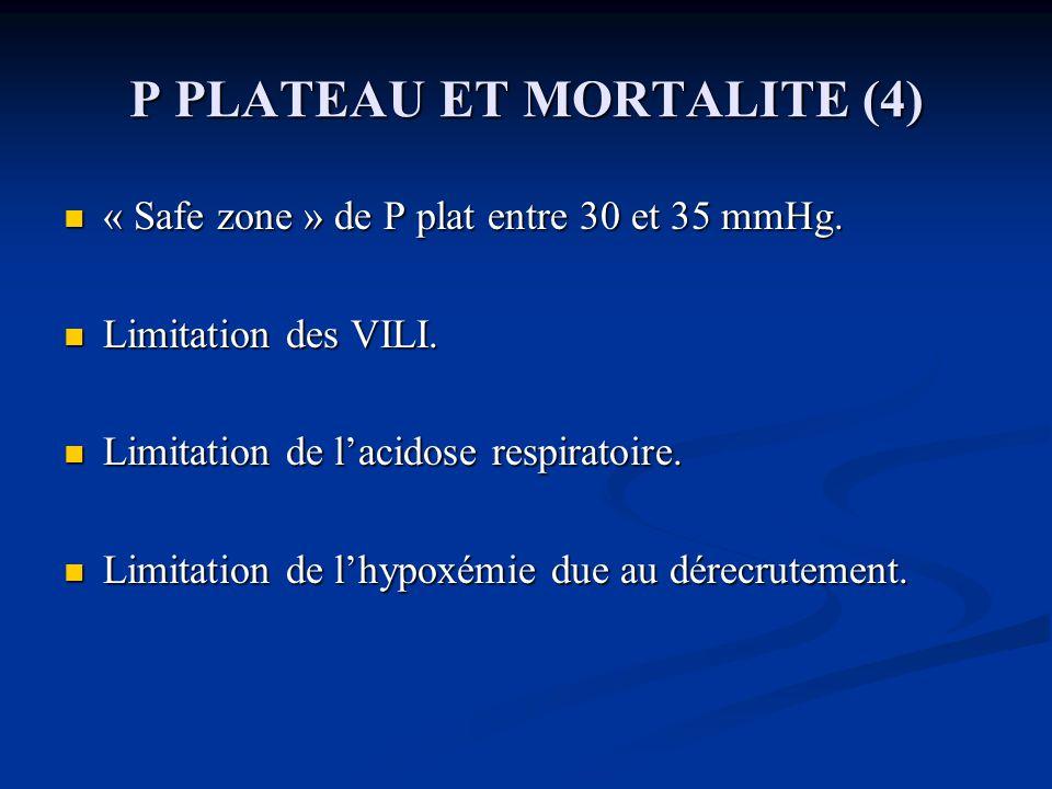 P PLATEAU ET MORTALITE (4)