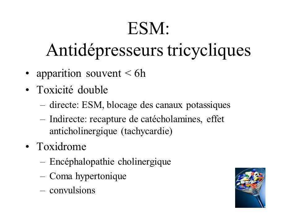 ESM: Antidépresseurs tricycliques