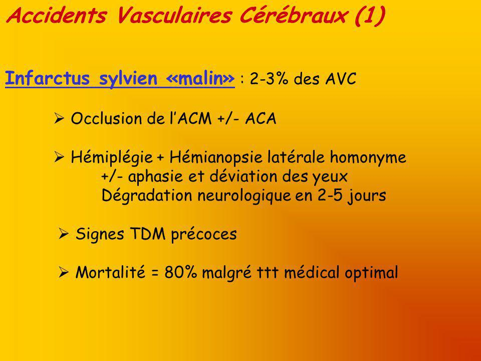 Accidents Vasculaires Cérébraux (1)