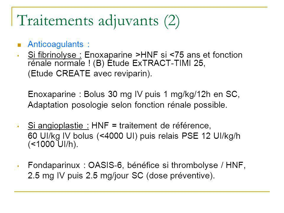Traitements adjuvants (2)