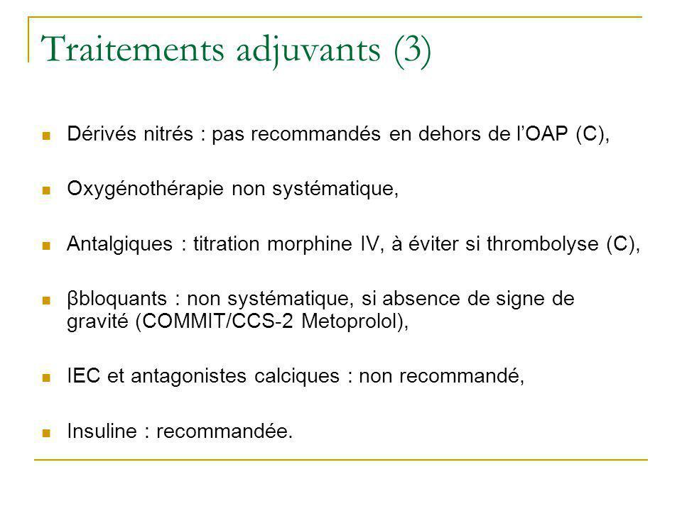 Traitements adjuvants (3)