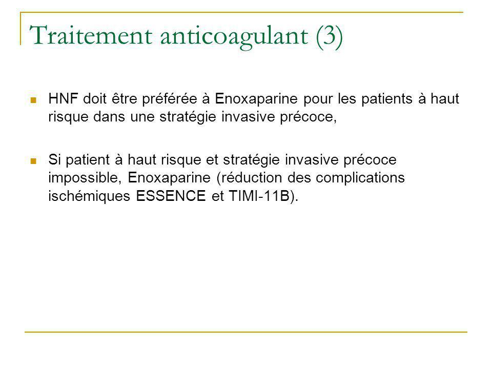 Traitement anticoagulant (3)