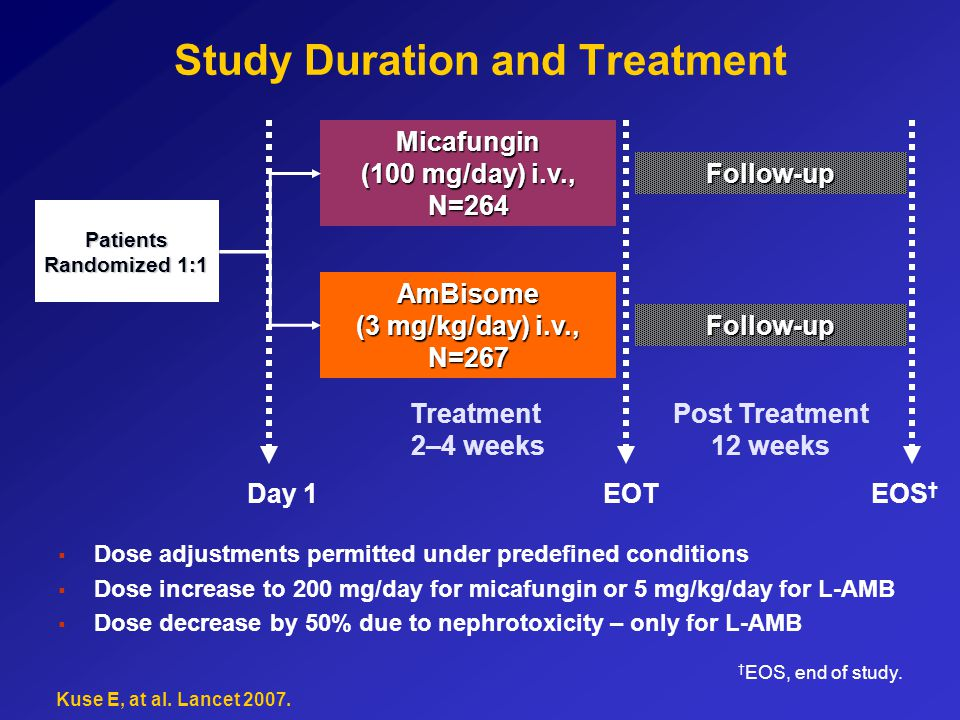 Study Duration and Treatment
