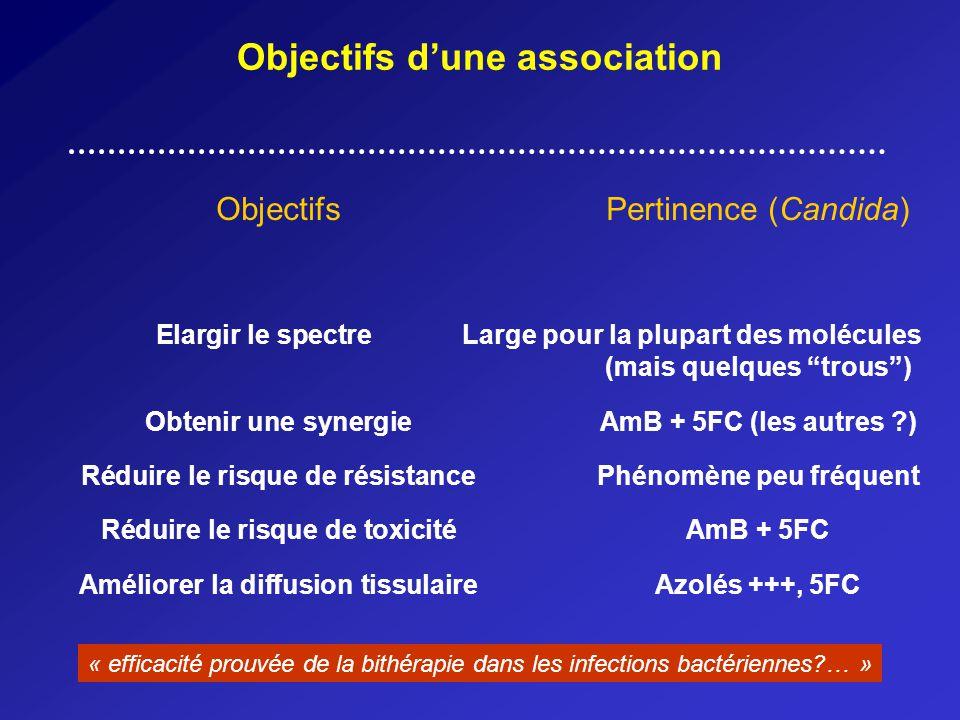 Objectifs d'une association