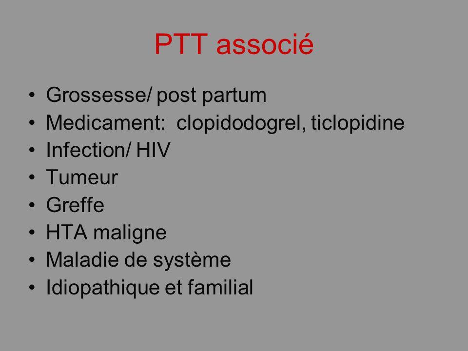PTT associé Grossesse/ post partum