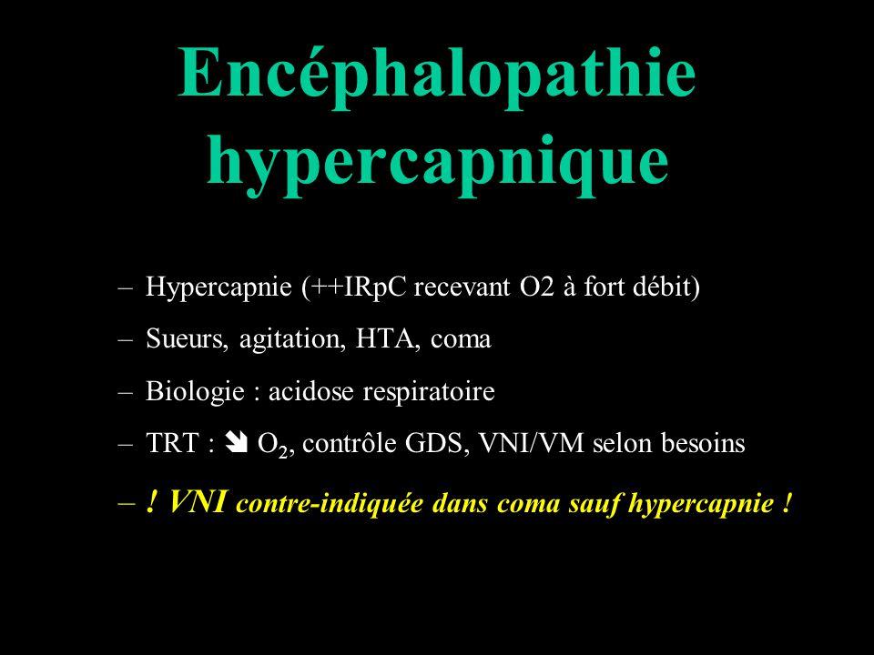 Encéphalopathie hypercapnique