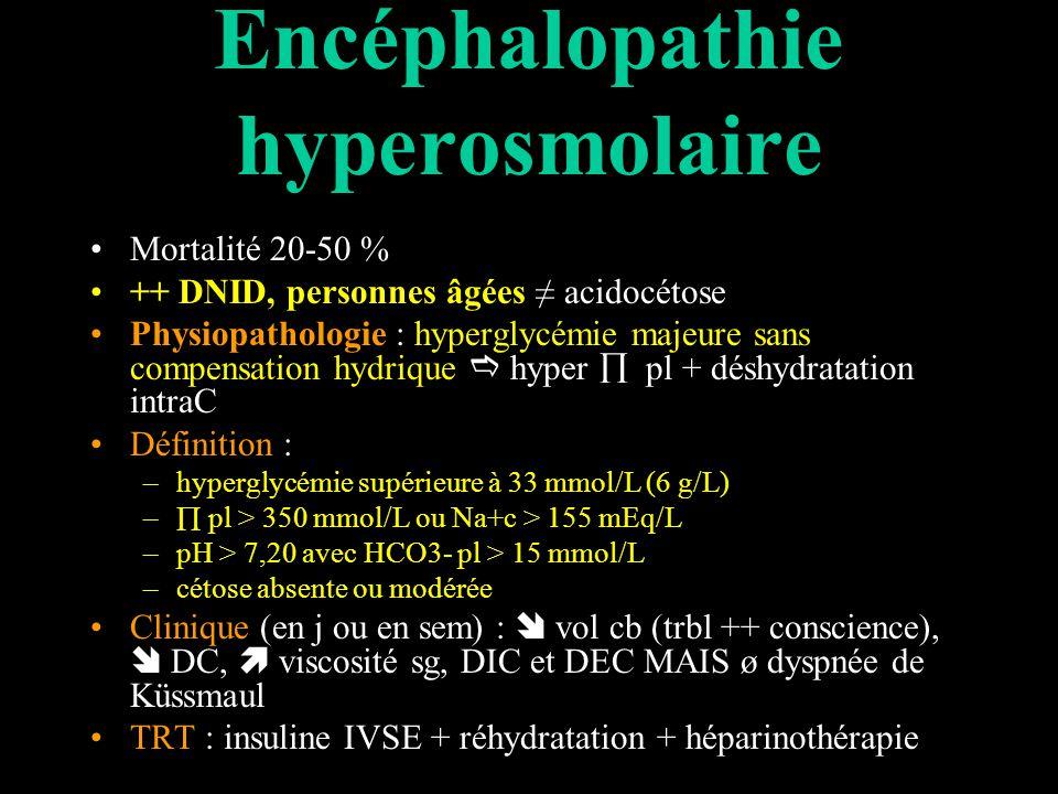 Encéphalopathie hyperosmolaire