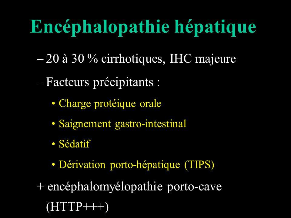 Encéphalopathie hépatique