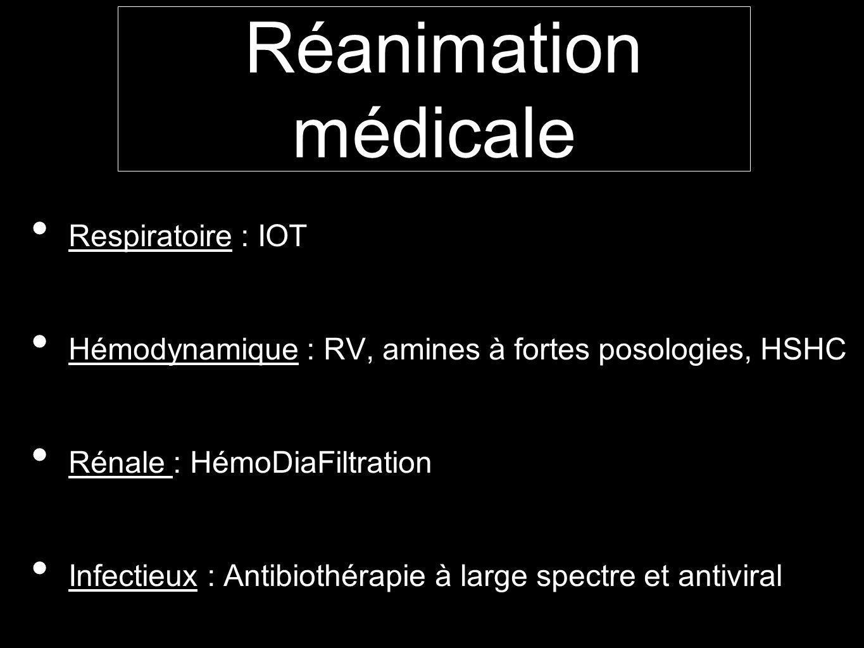 Réanimation médicale Respiratoire : IOT