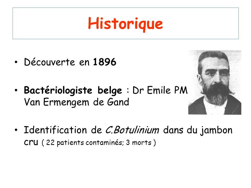 Historique Découverte en 1896