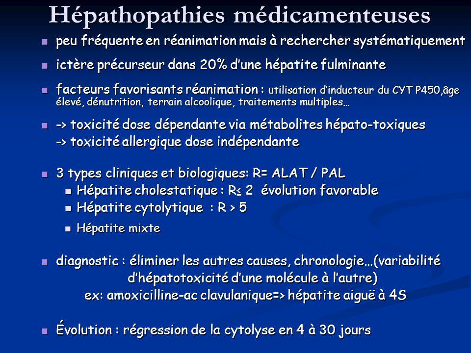 Hépathopathies médicamenteuses