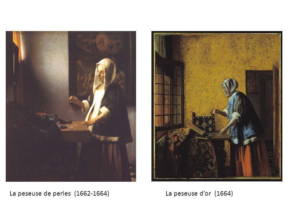 La peseuse de perles (1662-1664)