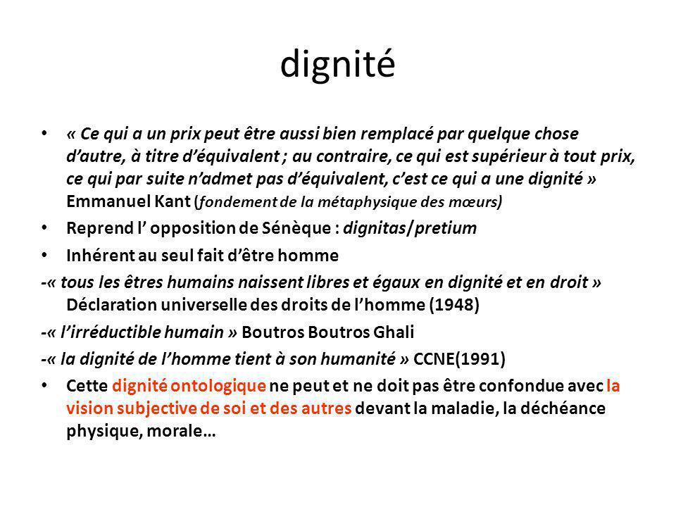 dignité