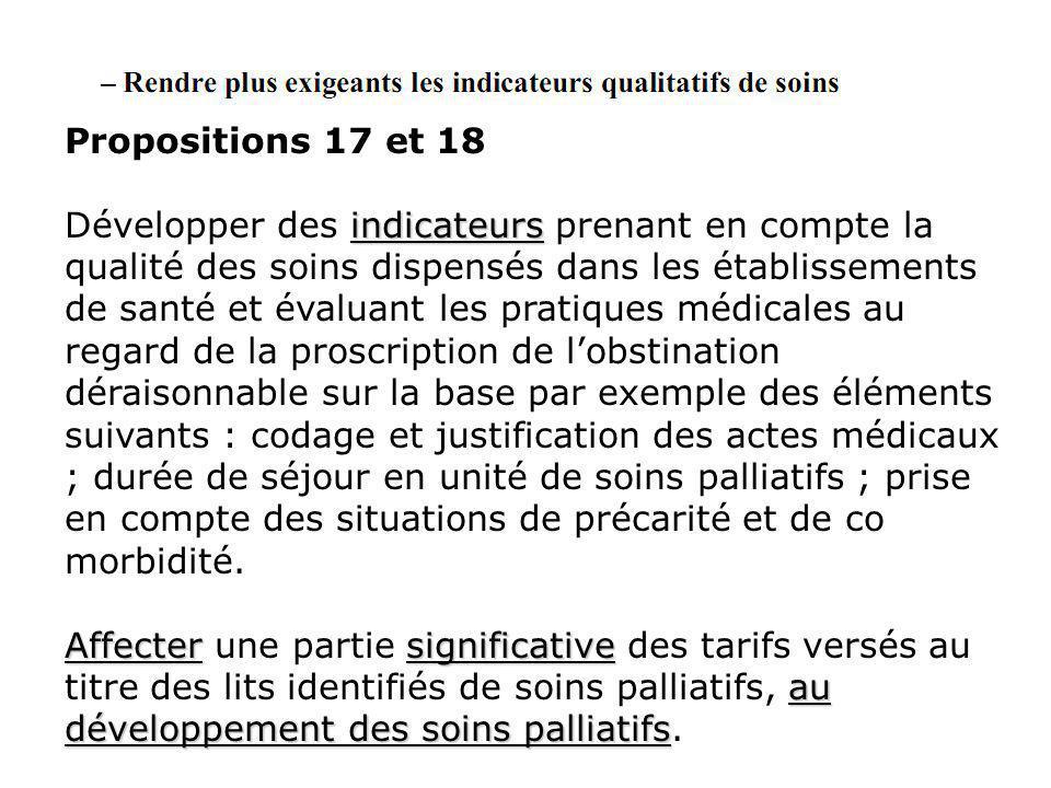 Propositions 17 et 18