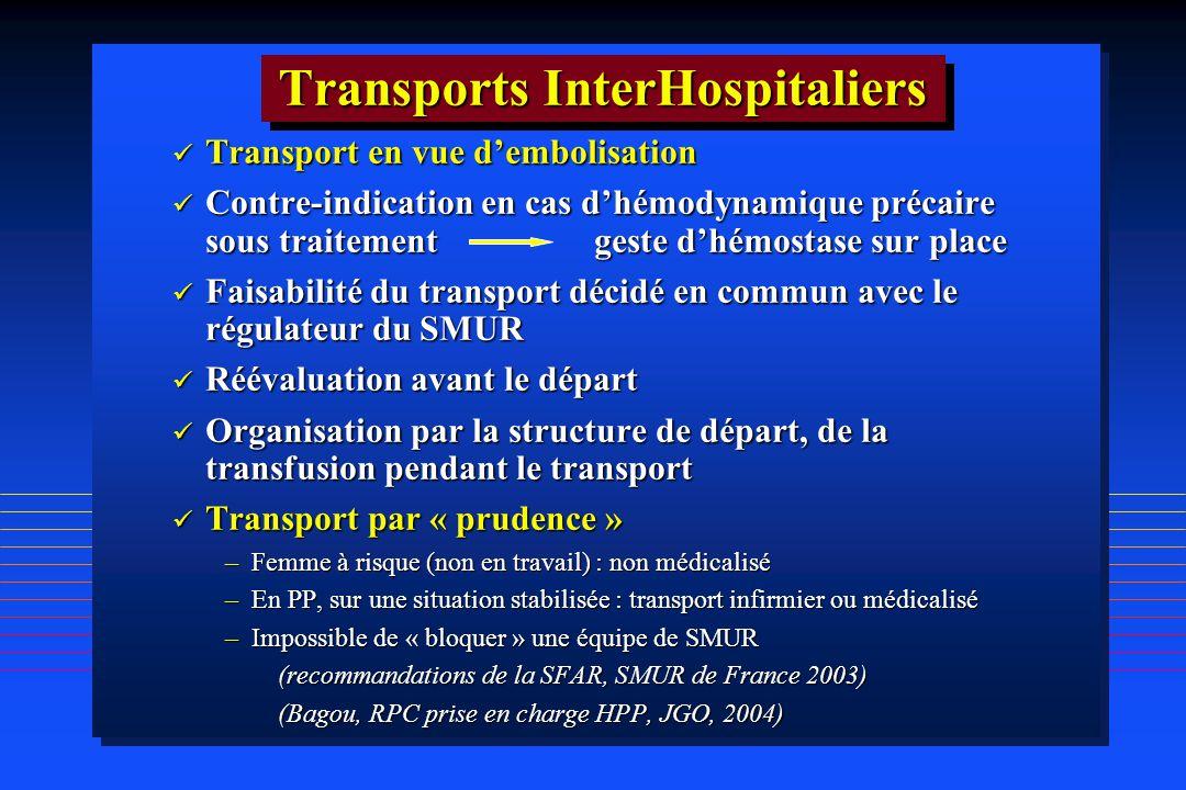 Transports InterHospitaliers