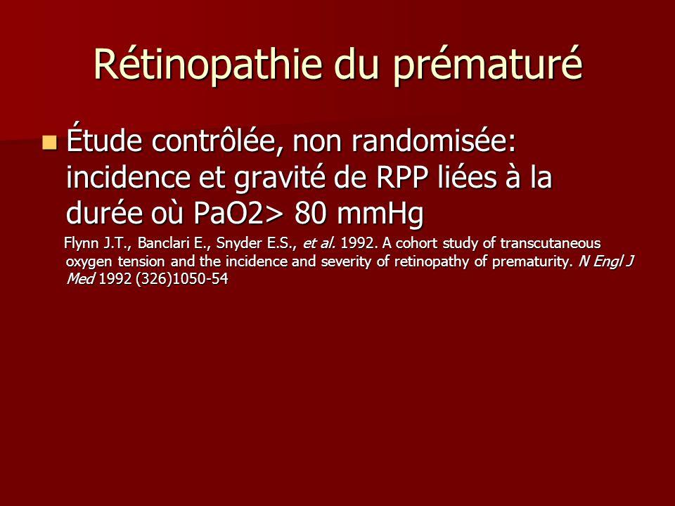 Rétinopathie du prématuré