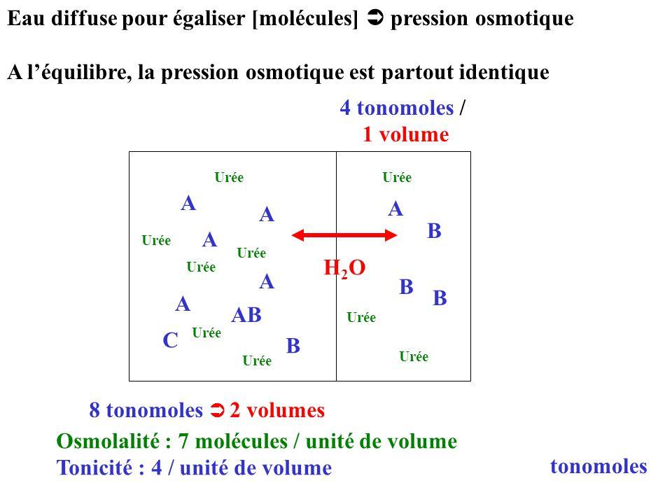 4 tonomoles / 1 volume 8 tonomoles  2 volumes