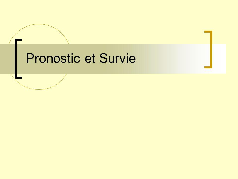 Pronostic et Survie