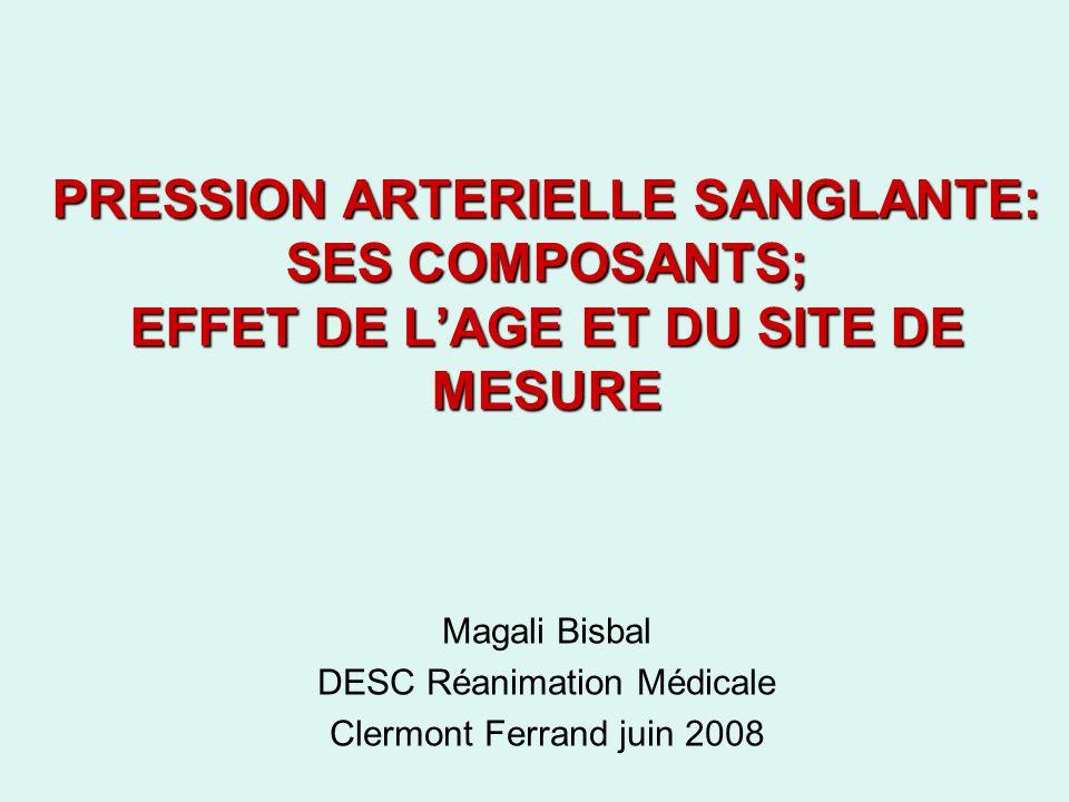 Magali Bisbal DESC Réanimation Médicale Clermont Ferrand juin 2008