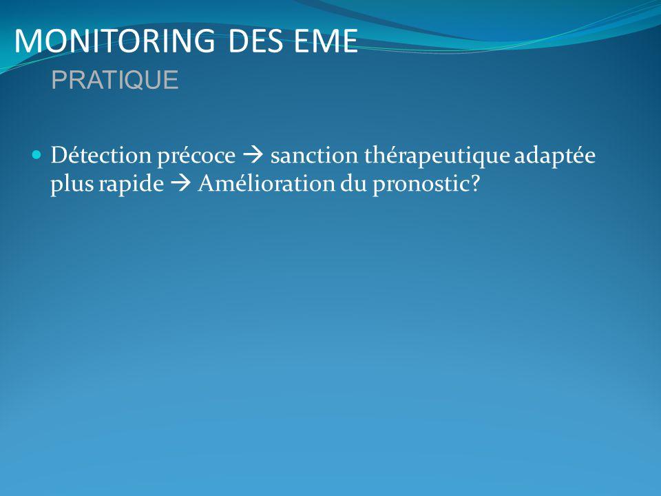 MONITORING DES EME PRATIQUE