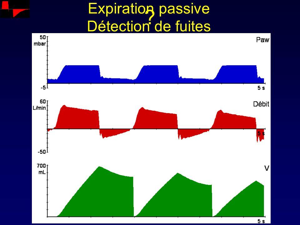 Expiration passive Détection de fuites