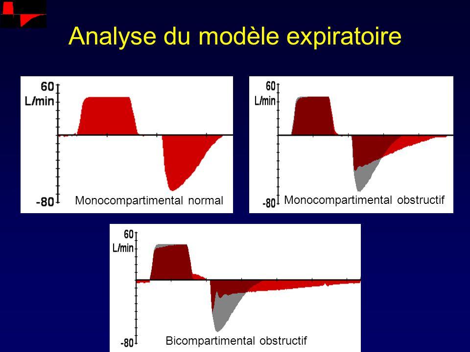Analyse du modèle expiratoire