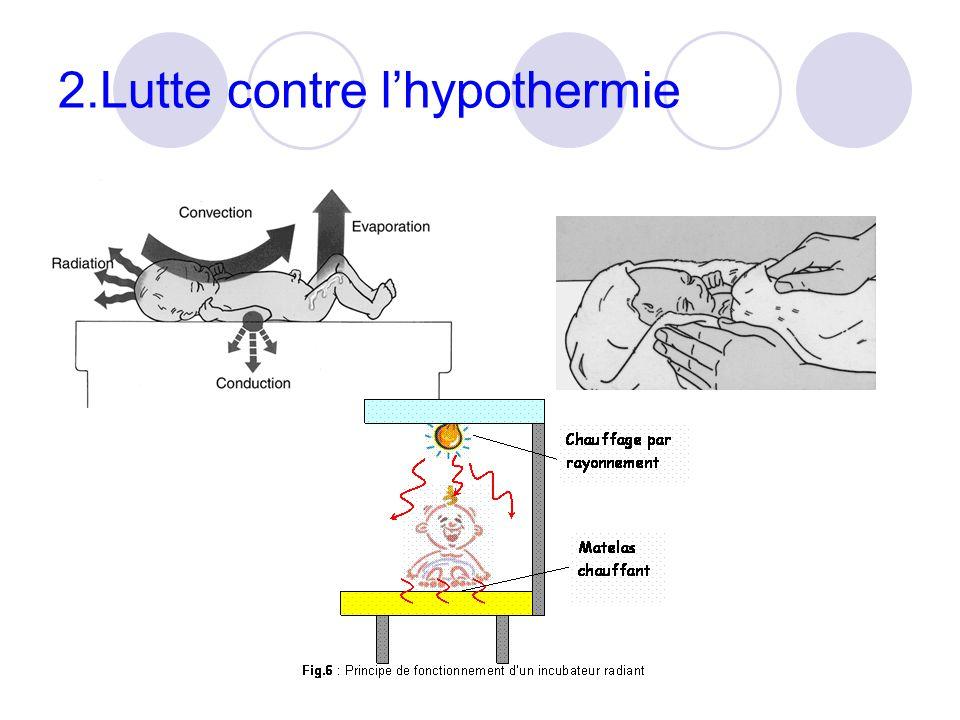 2.Lutte contre l'hypothermie