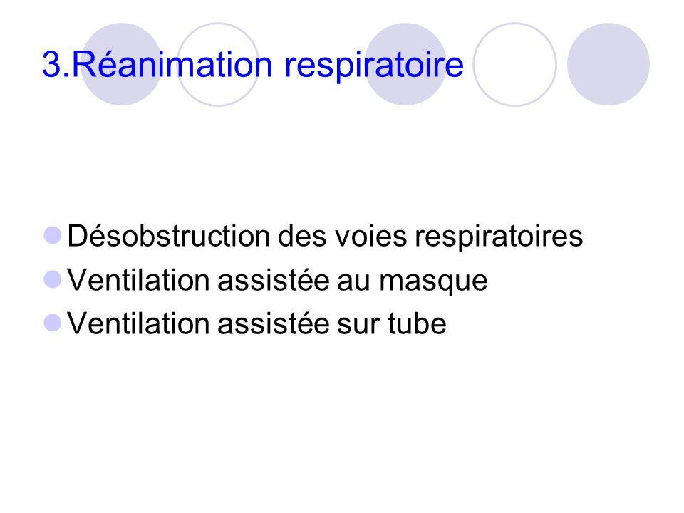 3.Réanimation respiratoire