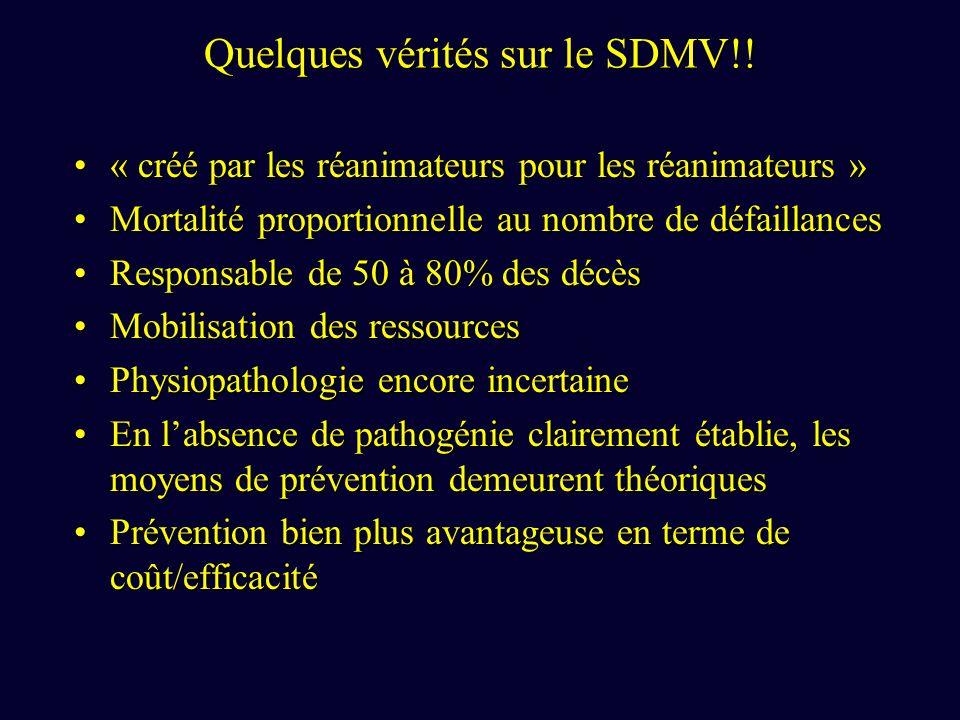 Quelques vérités sur le SDMV!!