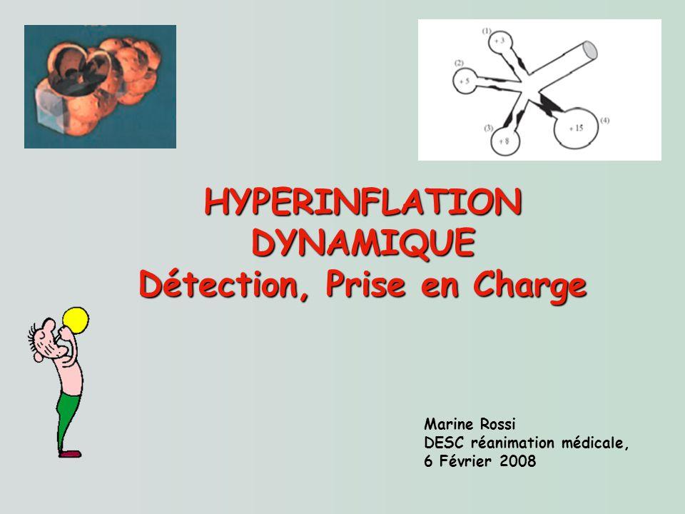HYPERINFLATION DYNAMIQUE Détection, Prise en Charge