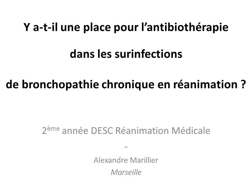 2ème année DESC Réanimation Médicale - Alexandre Marillier Marseille