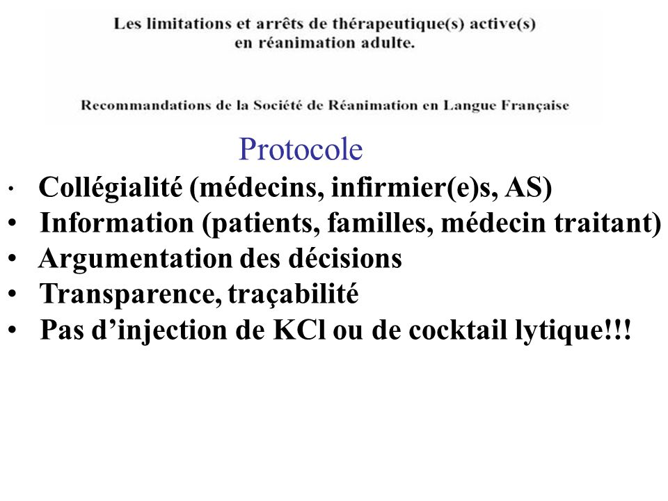Information (patients, familles, médecin traitant)