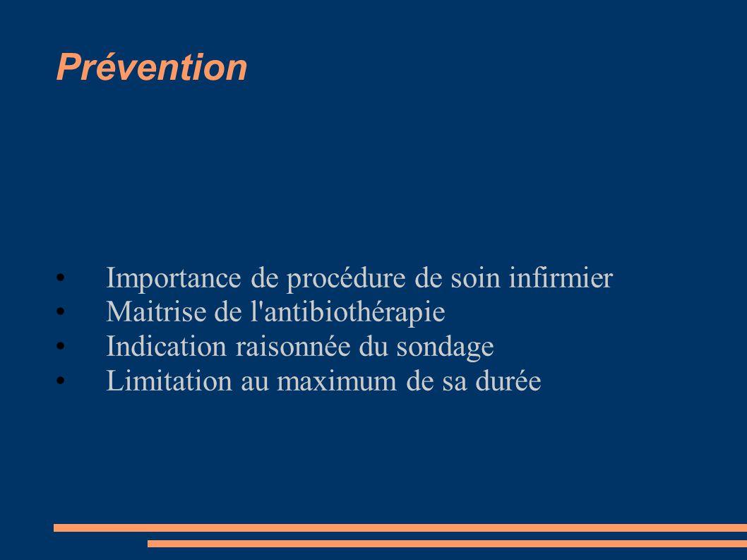 Prévention Importance de procédure de soin infirmier