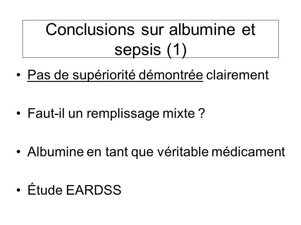 Conclusions sur albumine et sepsis (1)