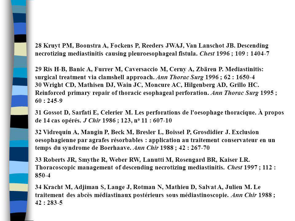 28 Kruyt PM, Boonstra A, Fockens P, Reeders JWAJ, Van Lanschot JB