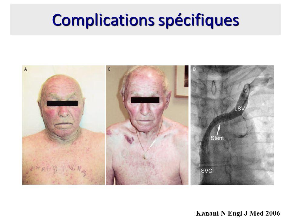 Complications spécifiques