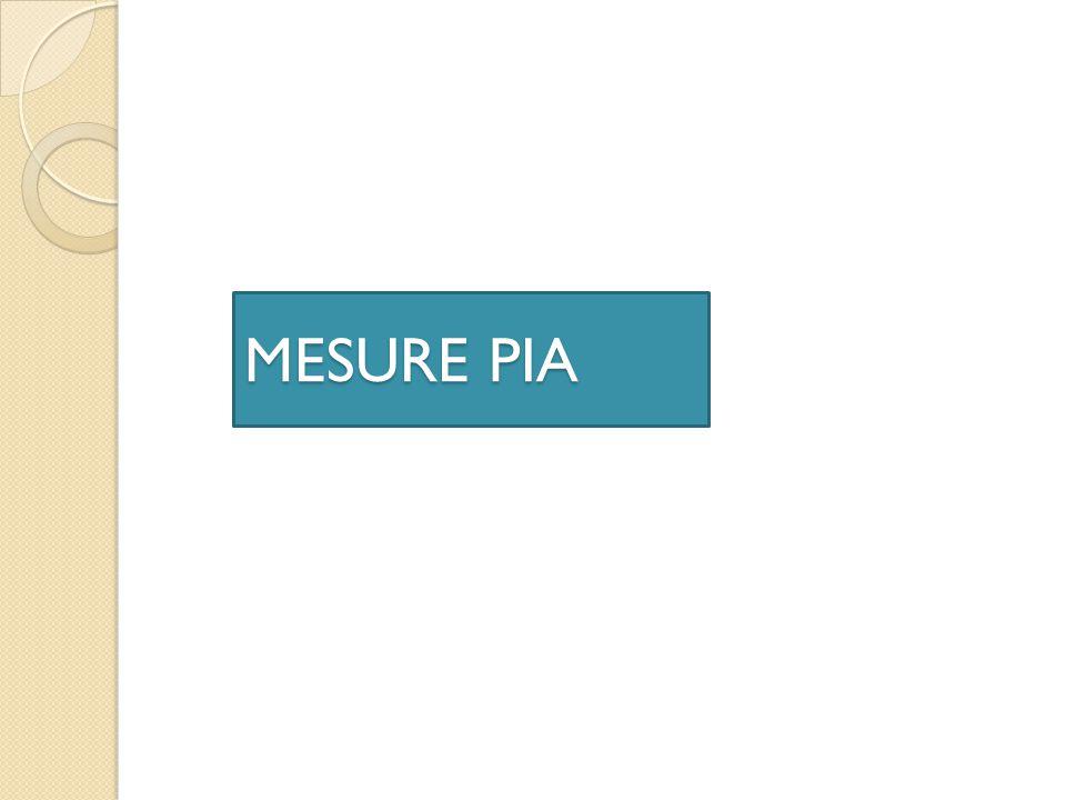 MESURE PIA