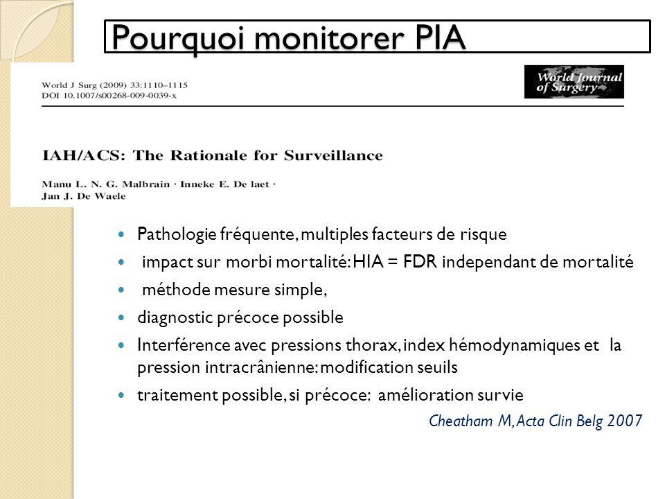 Pourquoi monitorer PIA