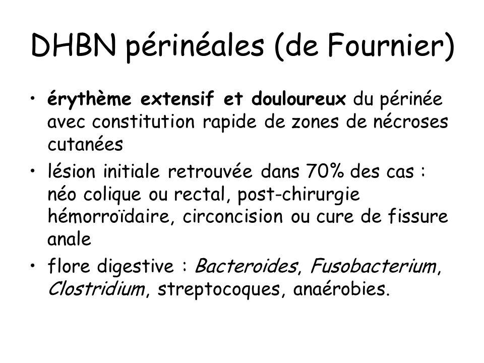 DHBN périnéales (de Fournier)