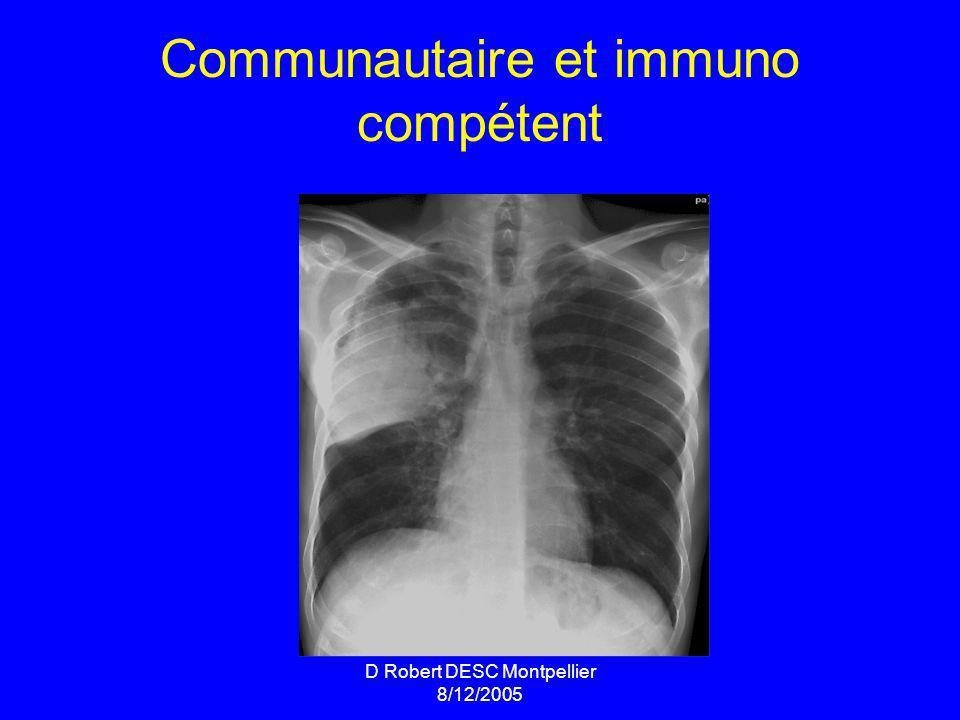 Communautaire et immuno compétent