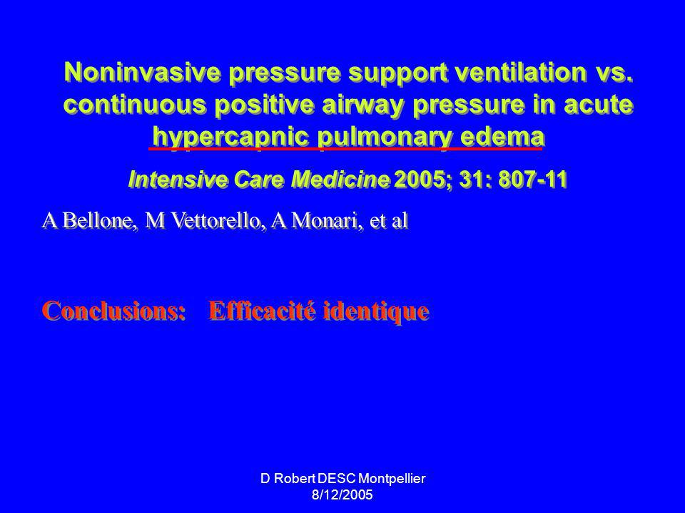Intensive Care Medicine 2005; 31: 807-11