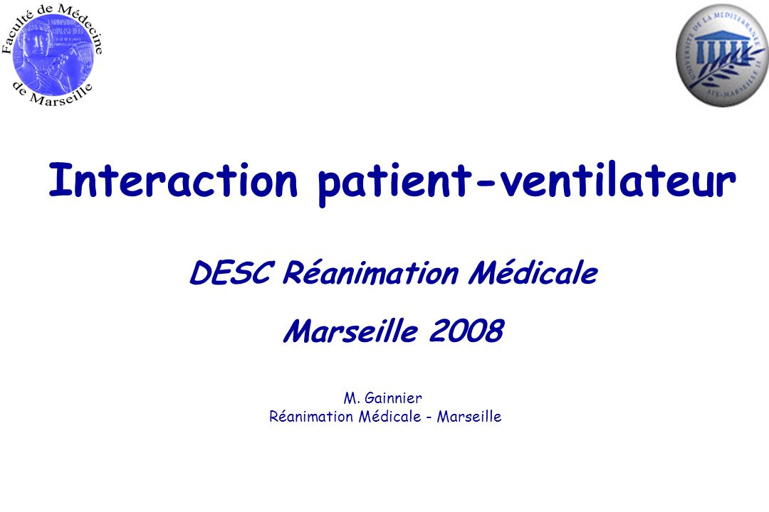 Interaction patient-ventilateur