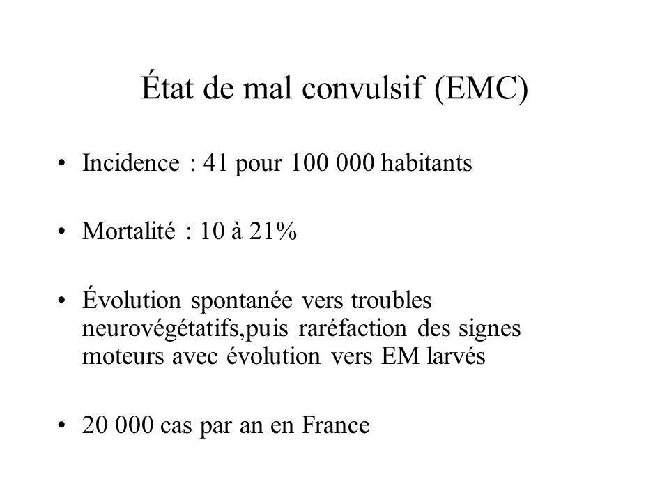État de mal convulsif (EMC)
