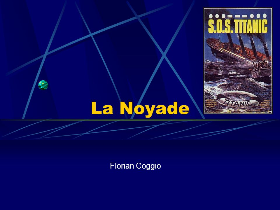 La Noyade Florian Coggio