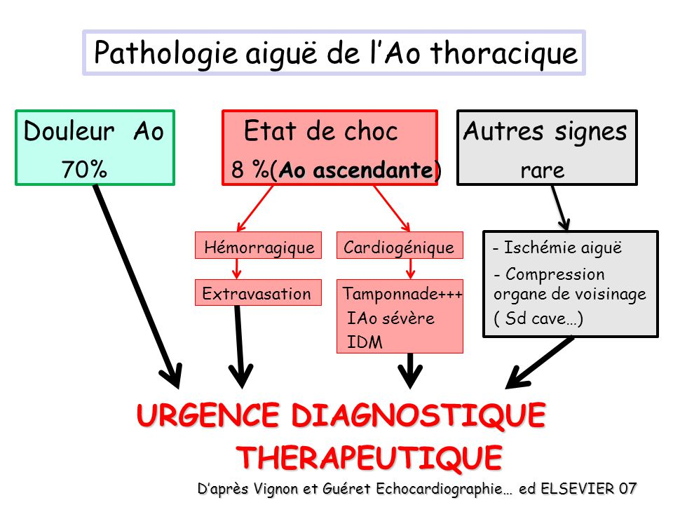 Pathologie aiguë de l'Ao thoracique
