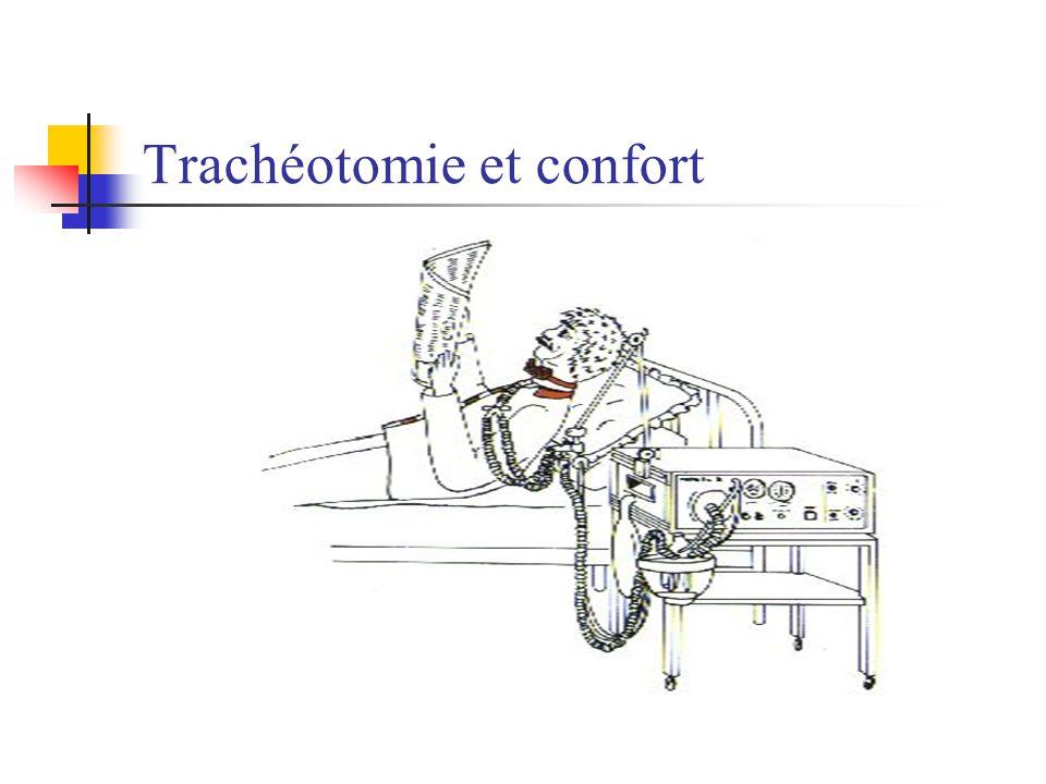 Trachéotomie et confort