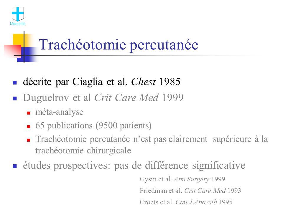 Trachéotomie percutanée