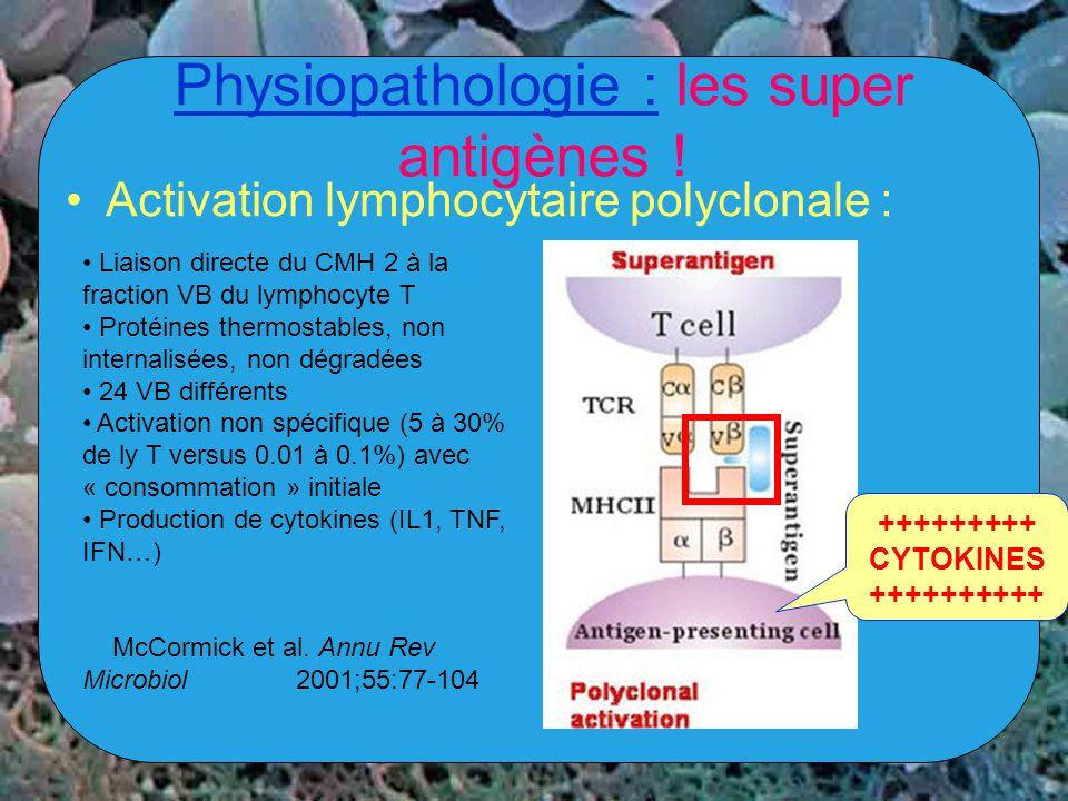 Physiopathologie : les super antigènes !