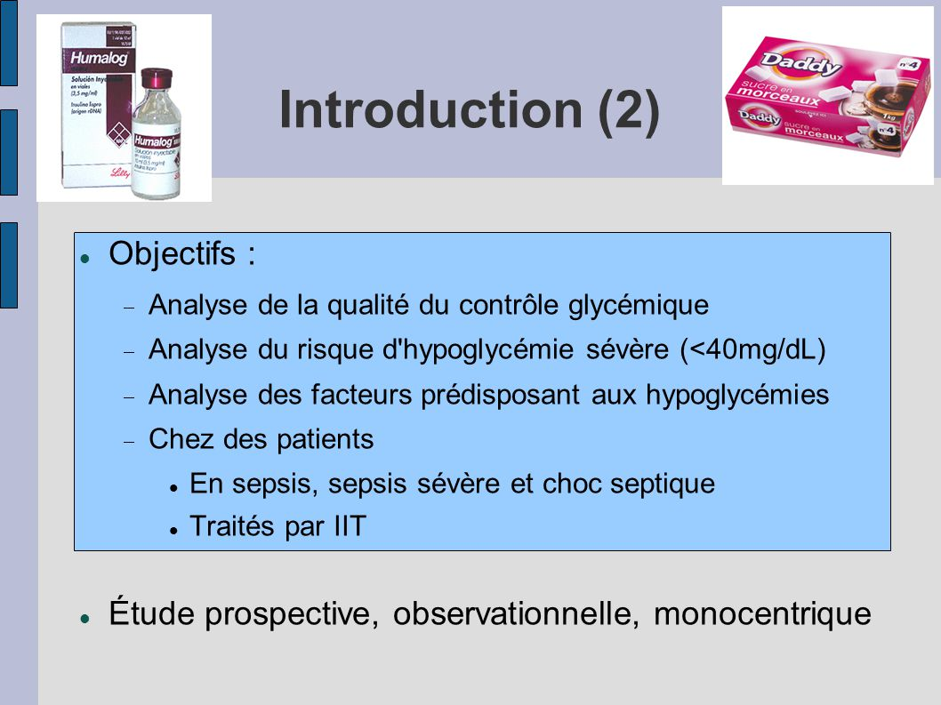 Introduction (2)‏ Objectifs :