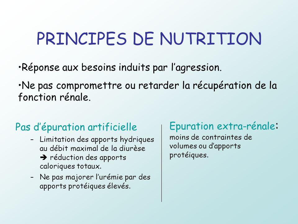 PRINCIPES DE NUTRITION